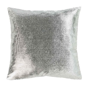 Housse de coussin collection velours NATUREL 40 x 40 cm