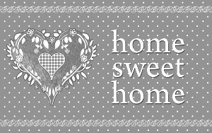 Home love Tapis déco rectangle 50x80 cm imprimé Home Love