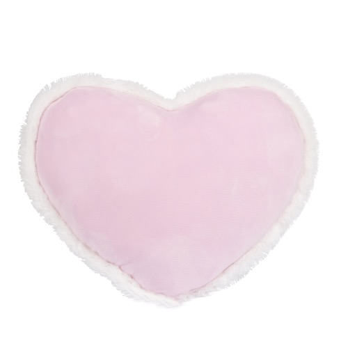COUSSIN DECO COEUR ROSE 40 X 30 CM SWEET KIDS
