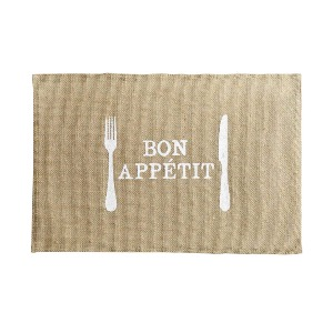 SET DE TABLE JUTE APPETITO 30 x 45 cm