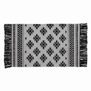 TAPIS RECTANGLE A FRANGES ANOKA 50x80CM