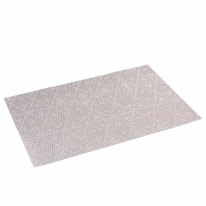 SET DE TABLE TRIGONE GRIS 30 x 45 cm
