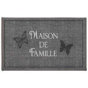 TAPIS RECTANGLE 50 X 80 CM IMPRIME FAMILIA