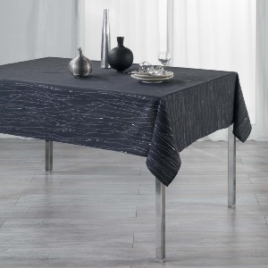 Filiane Nappe rectangle anthracite 140x240 cm