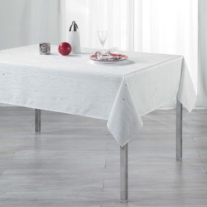 Filiane Nappe rectangle blanche 140x240 cm